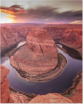 Poster Horseshoe Bend Canyon, Arizona