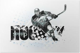 ice hockey 2 Poster