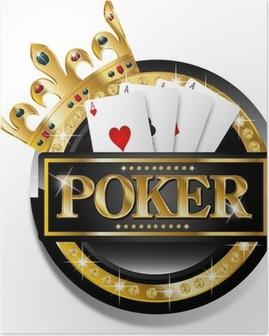 Poster Icône poker