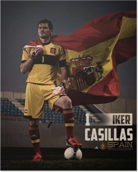 Póster Iker Casillas