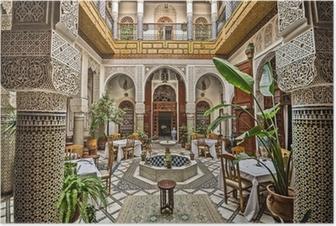 Póster Interior marroquí