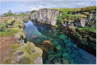Poster Island - Þingvellir nationalpark