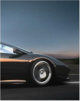 italian sportscar Poster