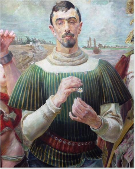 Poster Jacek Malczewski - Le Hamlet Polonais - Reproductions