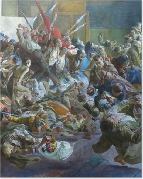 Poster Jacek Malczewski - Mélancolie - Reproductions