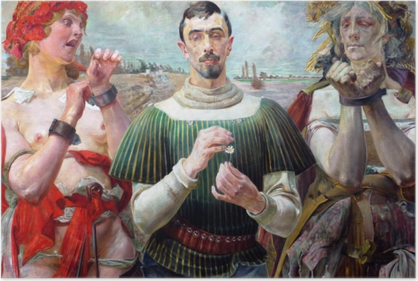 Jacek Malczewski - Polish Hamlet Poster - Reproductions