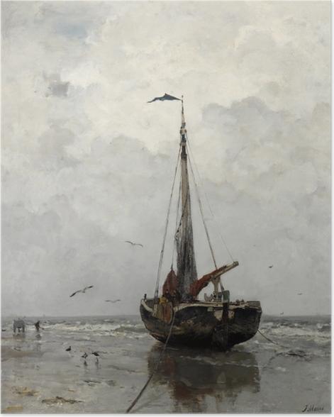 Póster Jacob Maris - Barca de pesca - Reproductions