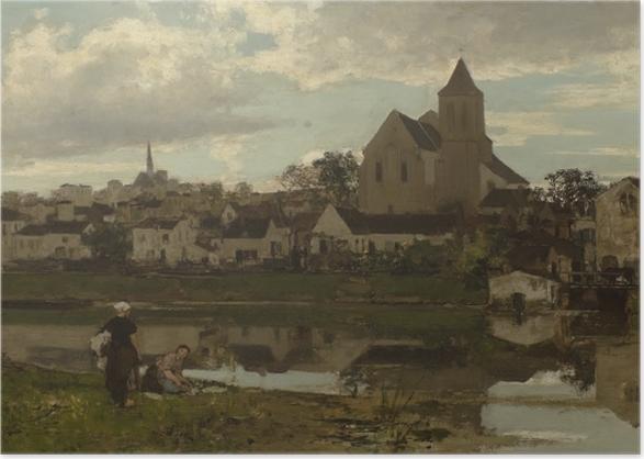 Jacob Maris - View at Montigny Poster - Reproductions