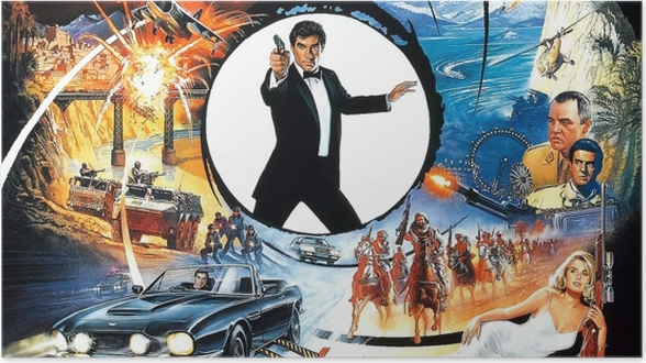 Poster James Bond - Thèmes