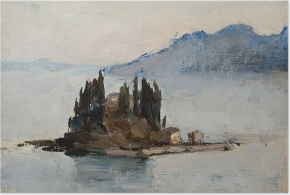 Jan Ciągliński - Corfu. From the Journey to Greece Poster - Reproductions
