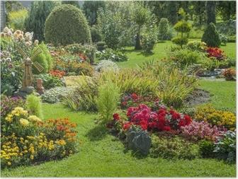 Posters terrasse et jardin fleuri • Pixers® - Nous vivons ...