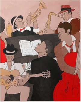 Poster Jazzband