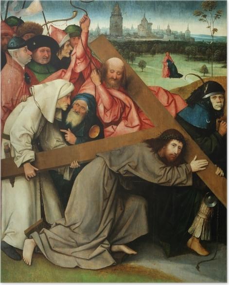 Poster Jérôme Bosch - Le Portement de Croix - Reproductions