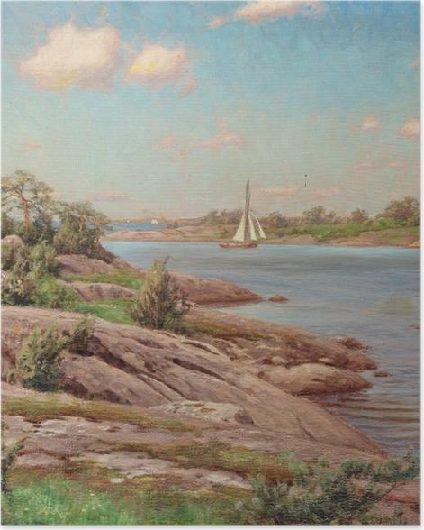 Poster Johan Krouthén - Motif de l'archipel - Reproductions