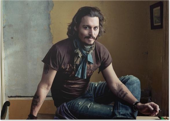 Poster Johnny Depp - Johnny Depp