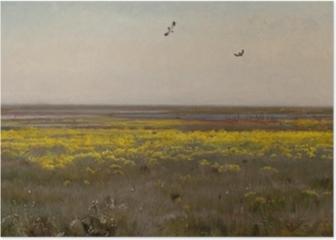Józef Chełmoński - Marsh-marigolds Poster