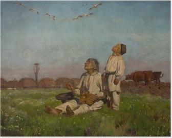 Józef Chełmoński - Storks Poster