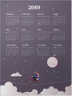Poster Kalender 2019 - reis