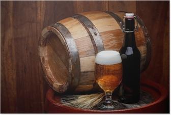 Keg of beer Poster