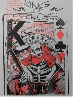 Poster King of spades