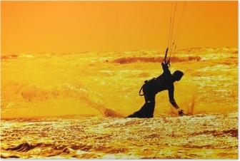 Poster Kitesurfen