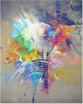 Poster Kleurrijke Licht