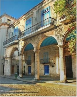 Poster Koloniala arkitektur i Havanna