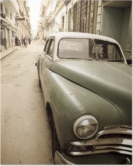 Poster Kubanska antik bil