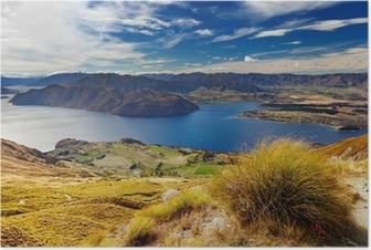 Lake Wanaka, New Zealand Poster