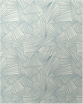 lattice pattern Poster