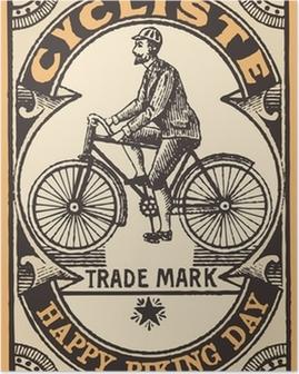 Le cycliste Poster