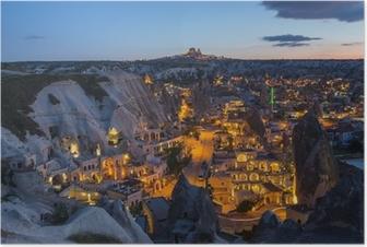 Poster Le paysage de la Cappadoce, en Turquie