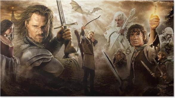 Poster Le Seigneur des anneaux - Criteo