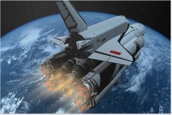 Poster Le vaisseau spatial