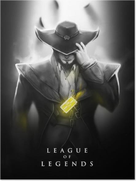 Póster League of Legends - Temas
