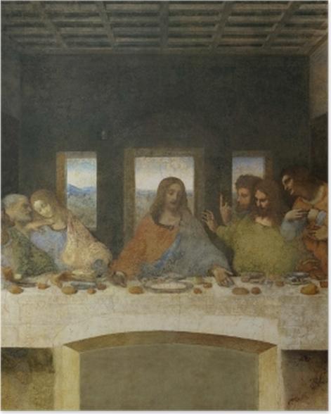 Poster Léonard de Vinci - La Cène - Reproductions