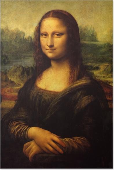 Poster Léonard de Vinci - Mona Lisa (La Joconde) - Reproductions