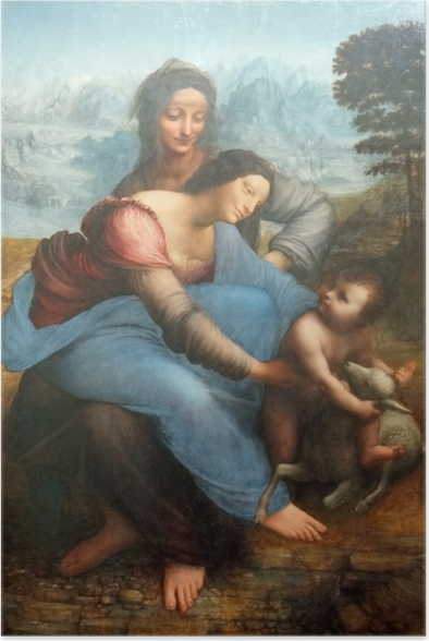 Leonardo da Vinci - The Virgin and Child with St. Anne Poster - Reproductions