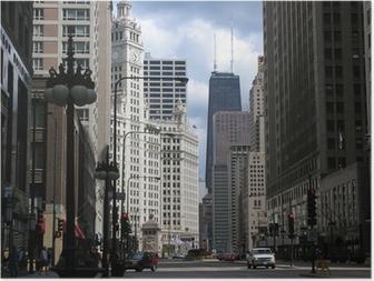 Poster Les temps d'arrêt de Chicago