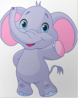 Poster Leuke olifant