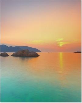 Poster Lever du soleil