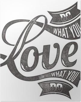 Poster Liefdes