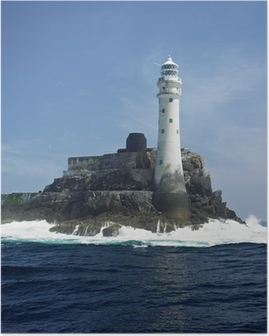 lighthouse, Fastnet Rock, County Cork, Ireland Poster