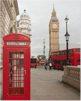 Poster Londen, Engeland