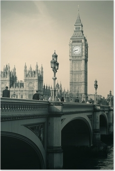 Poster London Skyline