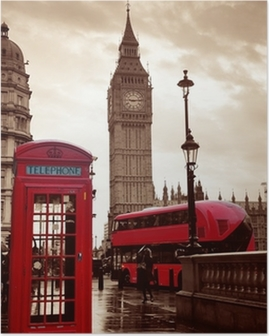 Poster London street