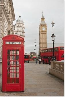Póster Londres Inglaterra