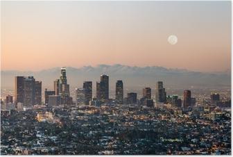 Poster Los angeles skyline