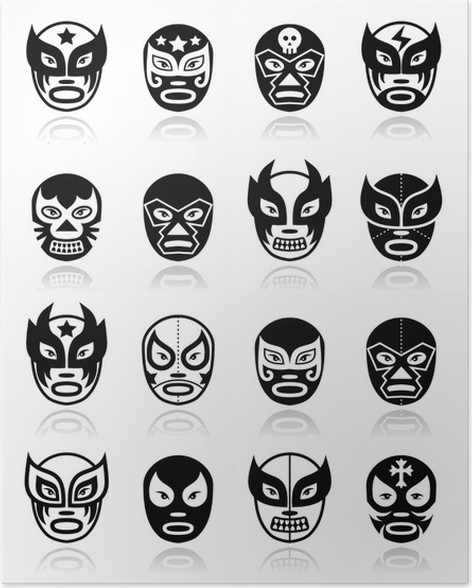 Mascaras De Luchadores Para Imprimir. Awesome Caretas Para Imprimir ...