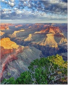 Poster Lumière du matin au Grand Canyon